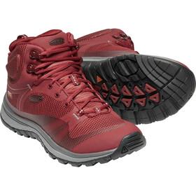 Keen Terradora WP Mid Shoes Damen merlot/raven